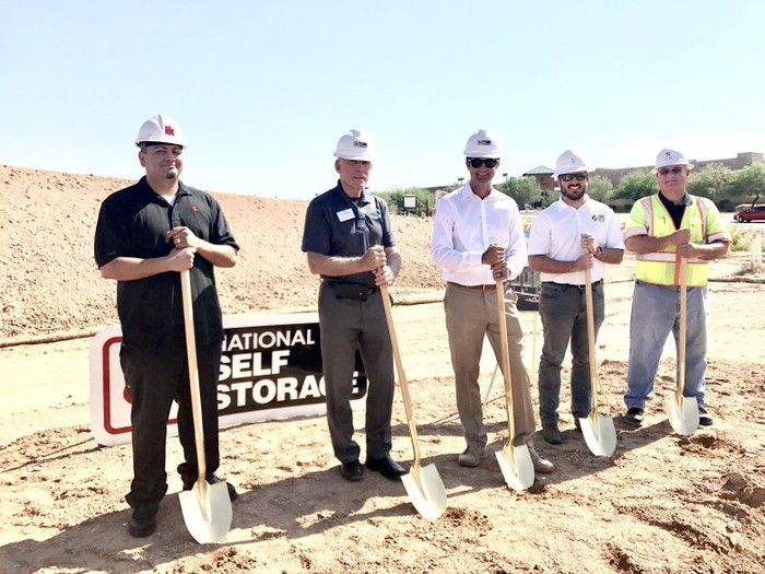 National SS Ground Breaking-Marana
